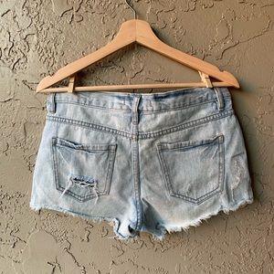 ‼️ free people distressed shorts